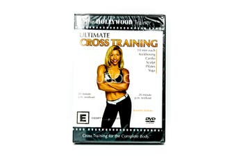 ULTIMATE CROSS TRAINING THE HOLLYWOOD TRAINER -Educational DVD Series New
