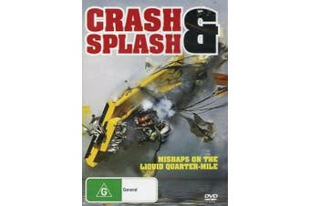 Crash & Splash Hydro Drag Speed Boat Racing - DVD Series Rare Aus Stock New