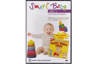 SMART BABY ABC'S TODDLER TUNES TEDDY BEAR'S PICNIC on 2 CD'S