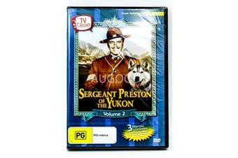 Sergeant Preston of the Yukon Volume 2 -DVD Series -Family New Region 4