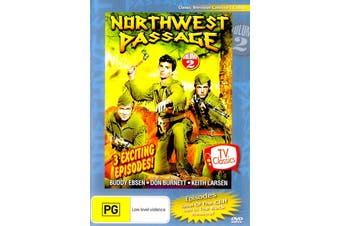 NORTHWEST PASSAGE VOLUME 2 Keith Larsen Buddy Ebsen Don Burnett Region 4