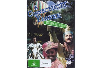 A Connecticut in King Arthur's Court -Rare DVD Aus Stock -Family New Region 4