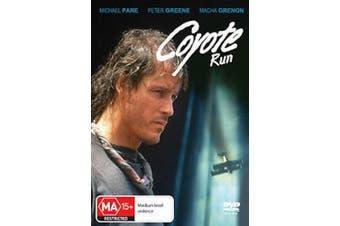 COYOTE RUN - Michael Paré, Macha Grenon, Peter Greene - DVD NEW