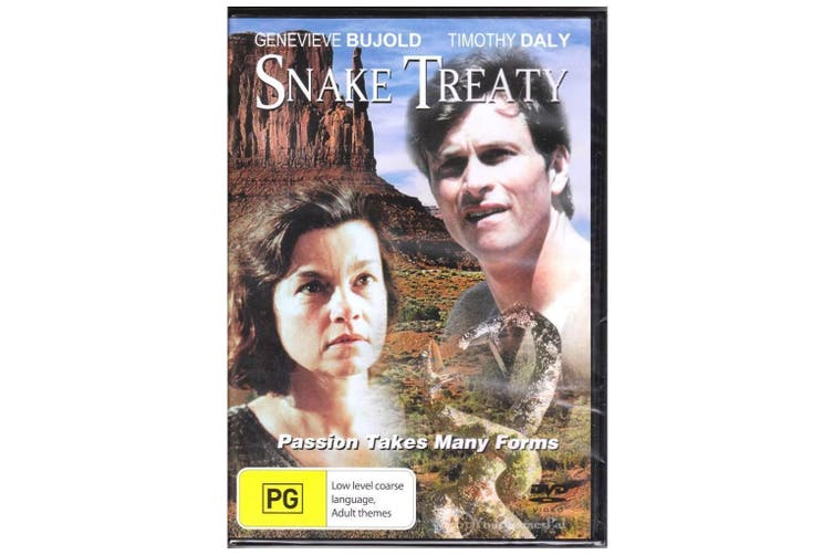 Snake Treaty - Rare DVD Aus Stock New