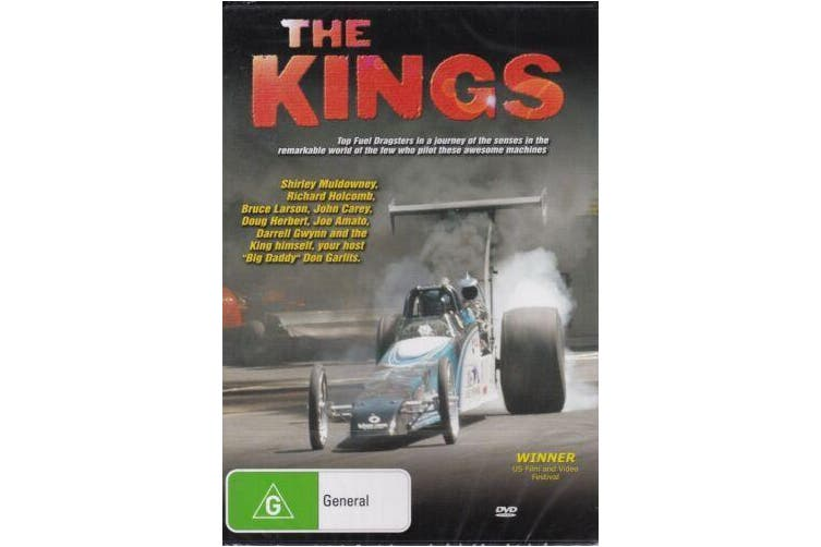 THE KINGS TOP FUEL DRAGSTERS - Rare DVD Aus Stock New