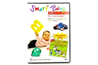Smart Baby ABC's -Kids DVD Series Rare Aus Stock New Region ALL