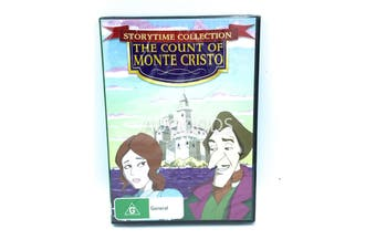 THE COUNT OF MONTE CRISTO (CHILDREN FAVOURITE) -Kids Region 4 DVD NEW