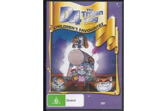 The Trojan Dog - Childrens Kid's Favourites -Kids DVD Rare Aus Stock New