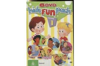 Kid's ChildrenFUN PACK VOLUME1 6-PACK THREE LITTLE PIGS -Kids DVD NEW
