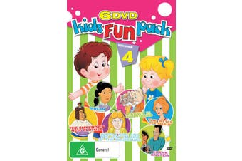 Kid's FUN PACK VOLUME 4 6 PACK EMPERORS NEW CLOTHES -Kids DVD New