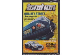 IGNITION STREET DREAMZ - EDITION 9 - MOTORING MAGAZINE - DVD Series New
