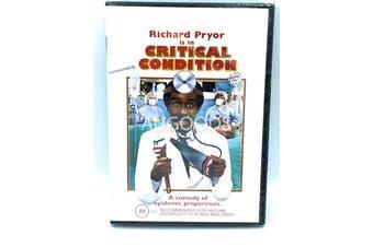 Critical Condition Richard Pryor -Rare DVD Aus Stock Comedy New Region 4