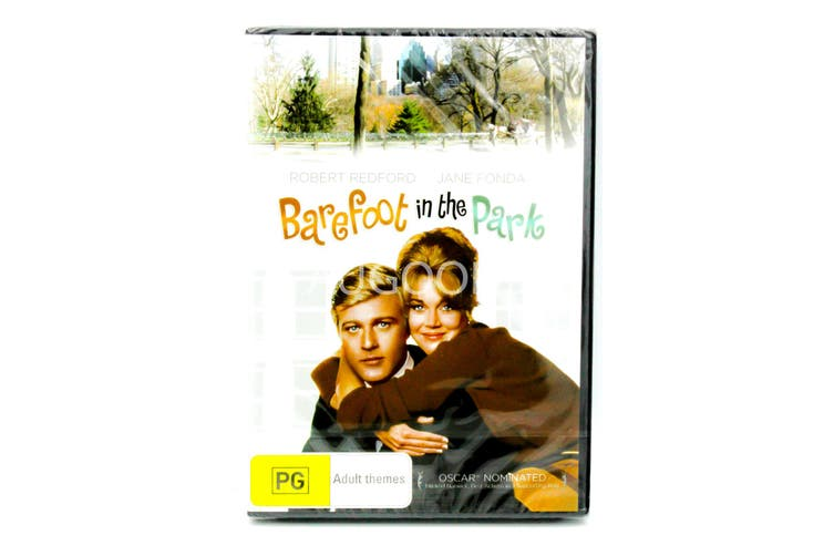 Barefoot In The Park Robert Redford Region 4 Disc Only -DVD -Comedy New