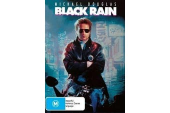 BLACK RAIN MICHAEL DOUGLAS ANDY GARCIA - Rare DVD Aus Stock New Region 4