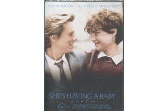 SHE'S HAVING A BABY - Kevin Bacon, Elizabeth McGovern, Alec Baldwin - DVD New