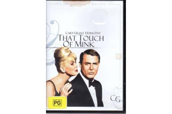 That Touch Of Mink Doris Day (Region 4) -Rare DVD Aus Stock Comedy New
