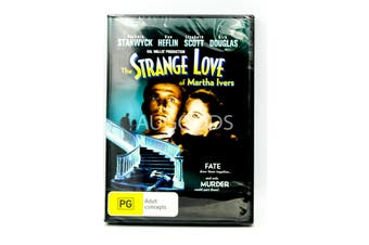The Strange Love of Martha Ivers - Rare DVD Aus Stock New Region 4