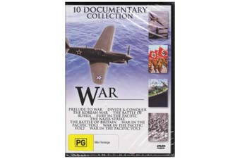 10 Documentary Collection War - DVD Series Rare Aus Stock New