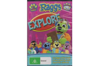 RAGGS EXPLORE CHILDRENS FAVOURITE ABC TV -Educational DVD Series New
