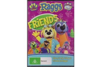 RAGGS - FRIENDS - CHILDRENS FAVOURITE -ABC TV -Educational DVD Series New