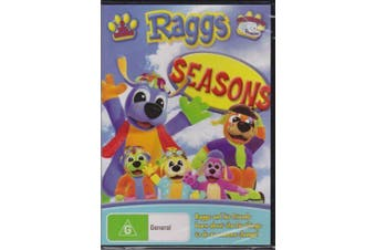 RAGGS - SEASONS: CHILDRENS FAVOURITE ABVC TV -Educational DVD Series New