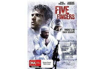 Five Fingers - Thriller -Rare DVD Aus Stock -War New