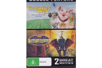 Charlotte's Web / The Wild Thornburys -Rare DVD Aus Stock -Kids & Family New