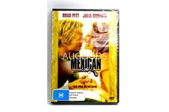 Brad Pitt - The Mexican - Rare DVD Aus Stock New Region 4