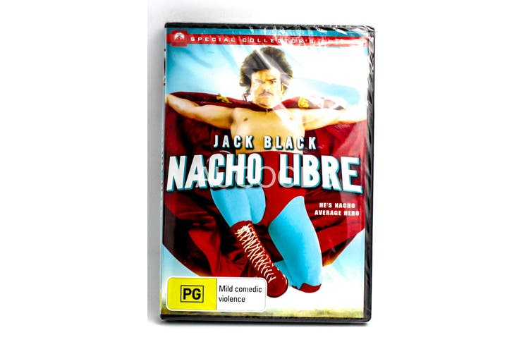 Nacho Libre -Rare DVD Aus Stock Comedy New Region 4