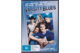 VARSITY BLUES -James Van Der Beek, Jon Voight, Paul Walker - DVD New