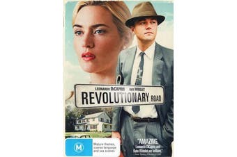 Revolutionary Road -Leonardo DiCaprio & Kate Winslet - DVD New Region 4
