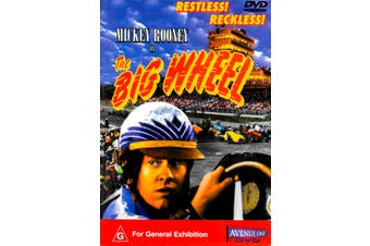 MICKEY ROONEY IN THE BIG WHEEL - Rare DVD Aus Stock New Region ALL