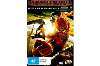 Spiderman Collector's Edition 2 Disc Set - Rare DVD Aus Stock New Region 4