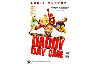 Daddy Day Care -Rare DVD Aus Stock -Family New Region 4
