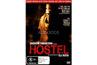 Hostel - Rare DVD Aus Stock New Region 4
