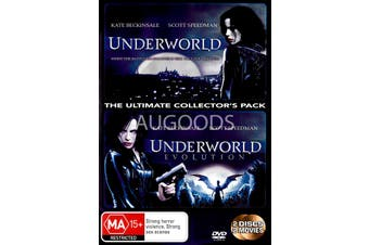 Underworld/ Underworld Evolution - Rare DVD Aus Stock New Region 4