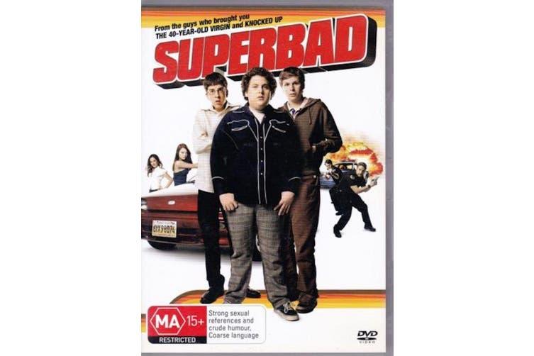 Superbad -Comedy Rare- Aus Stock DVD NEW