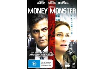 Money Monster - Rare DVD Aus Stock New Region 2,4,5