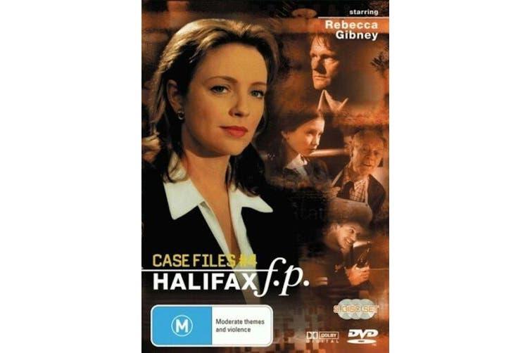 HALIFAX F.P. CASE FILES #4 - DVD Series Rare Aus Stock New Region 4