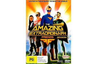 The Amazing Extraordinary Friends Season 1 (2-Disc Set) -Kids DVD Series New