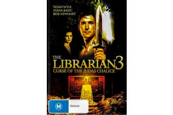 The Librarian 3 Curse of The Judas Chalice - Rare DVD Aus Stock New Region 4