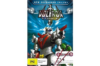 Voltron Force- New Defenders Trilogy -Kids DVD Series Rare Aus Stock New
