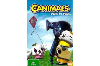 CANIMALS: COME TO PLAY -Rare DVD Aus Stock Animated New
