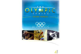The Olympic Games Golden Moments - DVD Series Rare Aus Stock New Region ALL