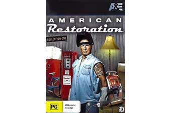 AMERICAN RESTORATION: COLLECTION SIX -Educational DVD Series New