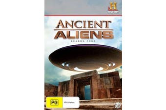 ANCIENT ALIENS - SEASON 4 -Educational DVD Series Rare Aus Stock New Region 4