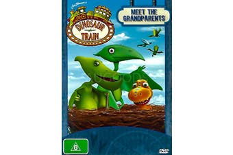DINOSAUR TRAIN MEET THE GRANDPARENTS -Kids DVD Rare Aus Stock New