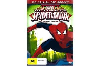 ULTIMATE SPIDERMAN: S.H.I.E.L.D. TOP SECRET -Kids DVD Rare Aus Stock New