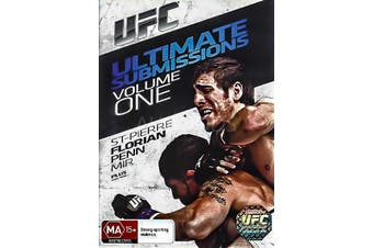 UFC ULTIMATE SUBMISSIONS: VOL.1 - Rare DVD Aus Stock New Region 4