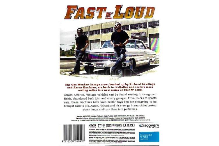 FAST N' LOUD -Educational Series Rare- Aus Stock DVD NEW